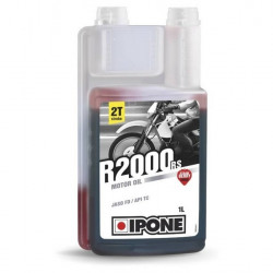 Ipone R2000 RS Synthetic 2T (φράουλα), 1 λίτρο